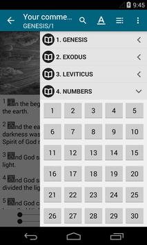 My Pocket Bible - Offline apk screenshot