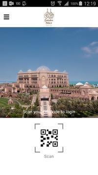 Emirates Palace phone-app poster