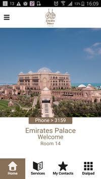 Emirates Palace phone-app apk screenshot