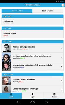 PHP Conference Argentina 2013 apk screenshot