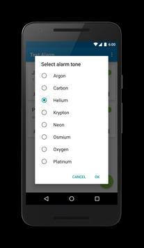 Text Alarm apk screenshot