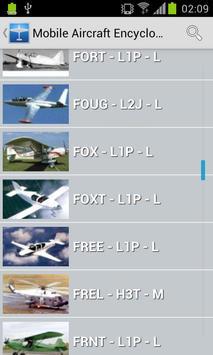 Mobile Aircraft Encyclopedia apk screenshot