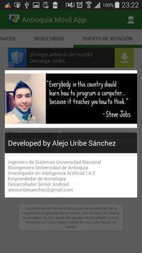 Antioquia Móvil App apk screenshot