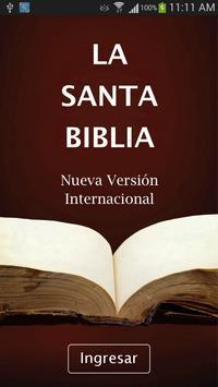 Biblia Version Internacional poster