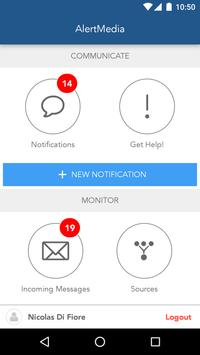 AlertMedia Pro apk screenshot