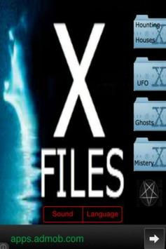 XFiles - Paranormal Activities poster