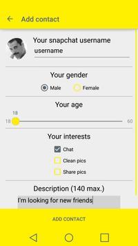 MySnapFinder - Find Snap Users apk screenshot
