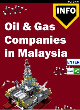 Malaysia Oil and Gas poster
