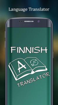English to Finnish Translator poster