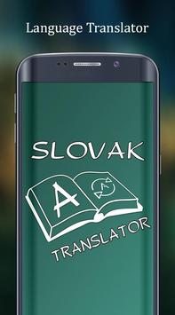 English to Slovak Translator poster
