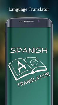 English to Spanish Translator poster