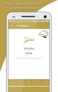 Asma Ul Nabi (99 Names) apk screenshot