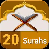 Last 20 Surahs of Holy Quran icon