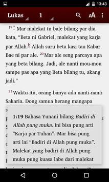 Alkitab Bahasa Melayu Ambon apk screenshot