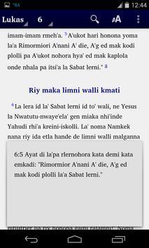 Alkitab Luang apk screenshot
