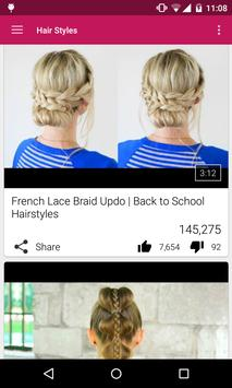 Easy Hair Styles poster