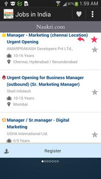 Jobs in India apk screenshot