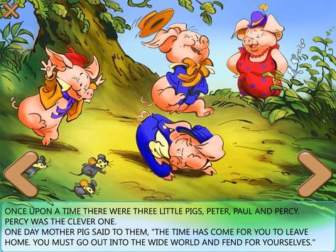 Three Little Pigs Free apk screenshot