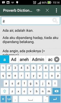 Kamus Peribahasa apk screenshot