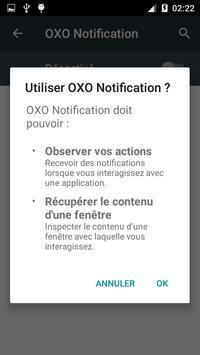 OXO Notification apk screenshot