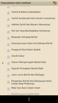 Perpustakaan Islam Salafiyah apk screenshot