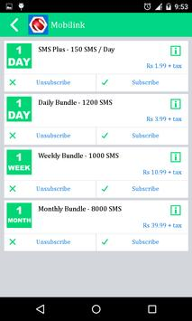 All Mobile Packages apk screenshot