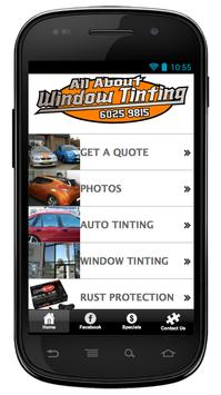 All About Window Tinting poster