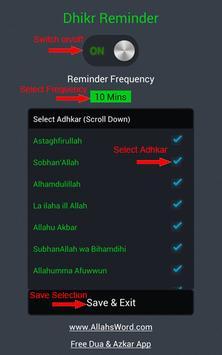 Dhikr Reminder apk screenshot