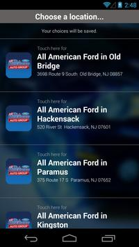 All American Ford Auto Sales poster