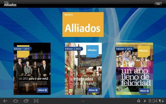Revista Alliados para Tablets apk screenshot