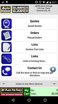 Beta-MyPlaceForParts apk screenshot