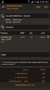 MediVision MVW SalesmanConnect apk screenshot