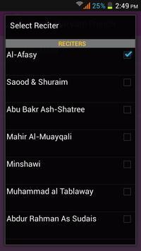 Surah Maryam French apk screenshot