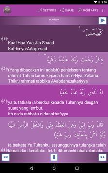 Surah Maryam Indonesian poster