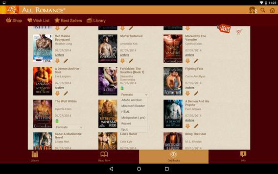 All Romance Reader - eBooks apk screenshot