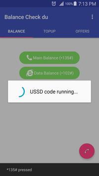 Balance Check for du apk screenshot