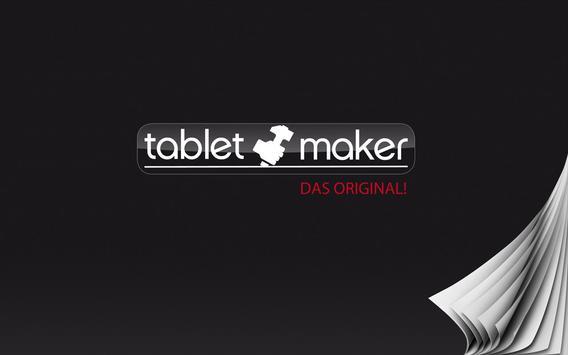 tablet maker Kiosk poster