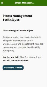 Stress Management Technique apk screenshot