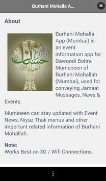 Burhani Mohallah App apk screenshot