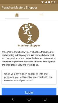 Paradise Mystery Shopper poster