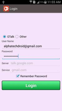 Chat for Google Talk And Xmpp poster