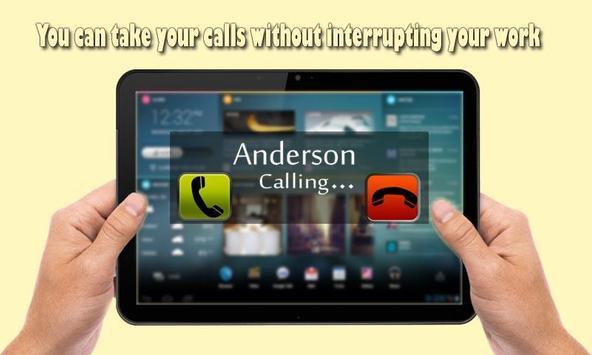 Transparent caller pro apk screenshot