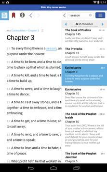 AlphaRef King James Version apk screenshot