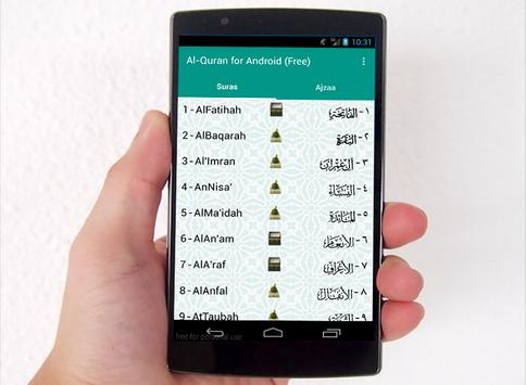 Al-Quran for Android (free) poster