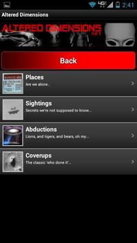 Altered Dimensions Paranormal apk screenshot