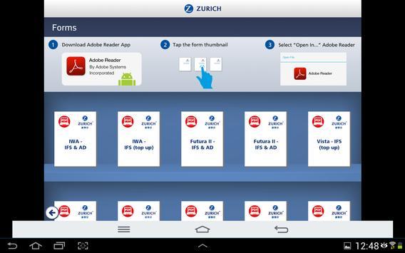 Zurich Portal HK apk screenshot