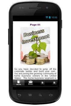 Business Investment apk screenshot