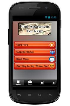 Find Apartment For Rent poster