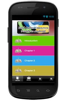 Find Unknown Caller Numbers apk screenshot