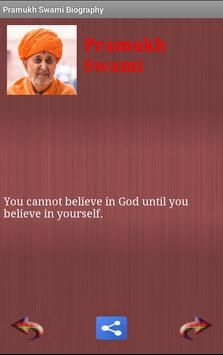 Pramukh Swami Biography&Quotes apk screenshot